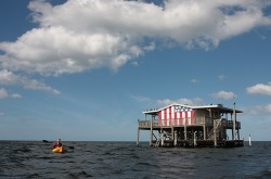 Stilt house in Pasco County